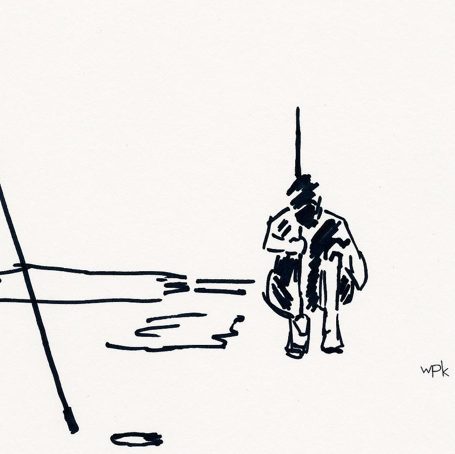 Golf II Drawing