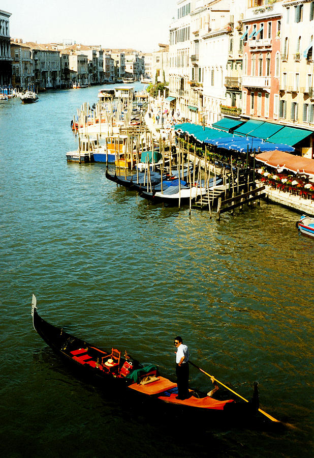 Gondola In Venice Italy Photograph
