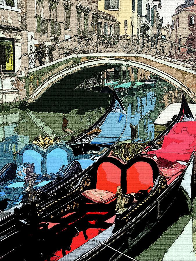 Gondolas Fresco  Photograph