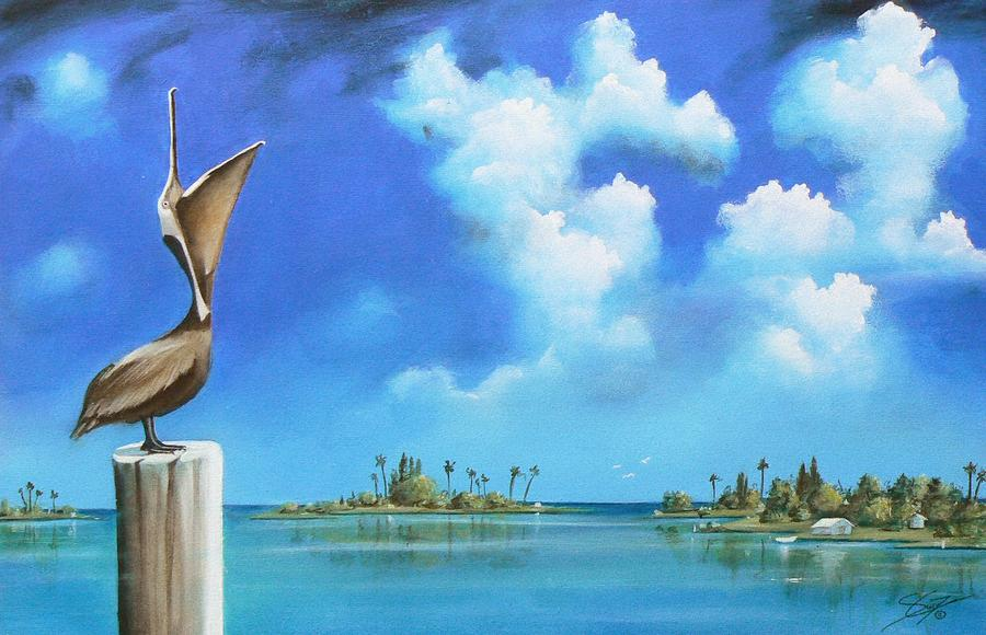Good Morning Florida Painting  - Good Morning Florida Fine Art Print