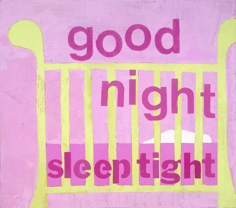 Good Night Baby Painting  - Good Night Baby Fine Art Print