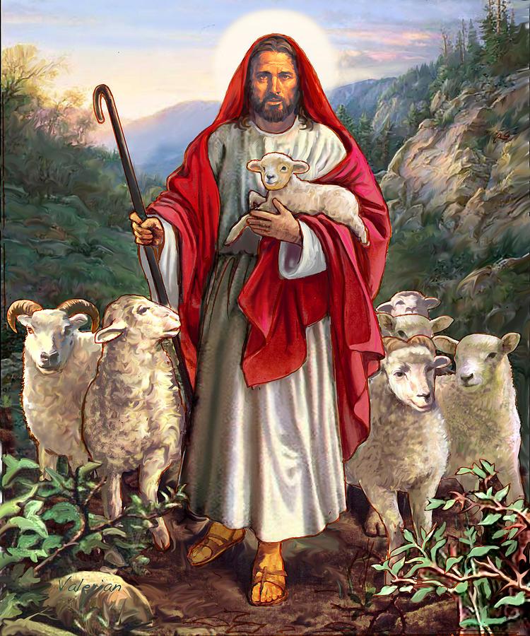 Good Shepherd by Valerian Ruppert