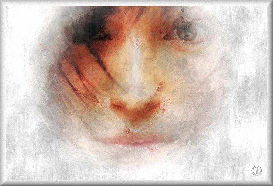 Woman Digital Art - Goodbye Winter And Snow by Gun Legler