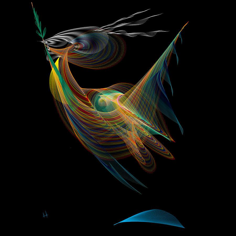 Abstract Digital Art - Goodwill Ambassador by Hayrettin Karaerkek