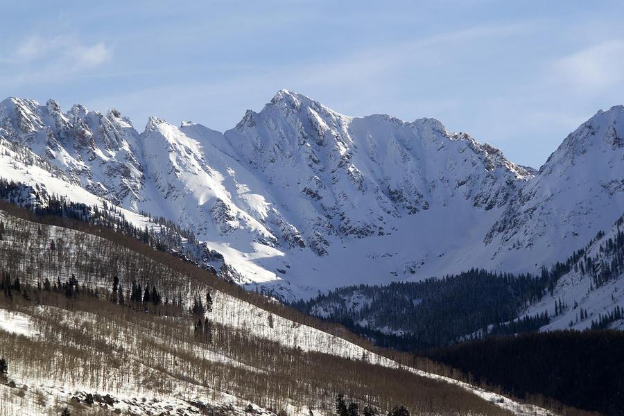 Gore Mountain Range Colorado Photograph