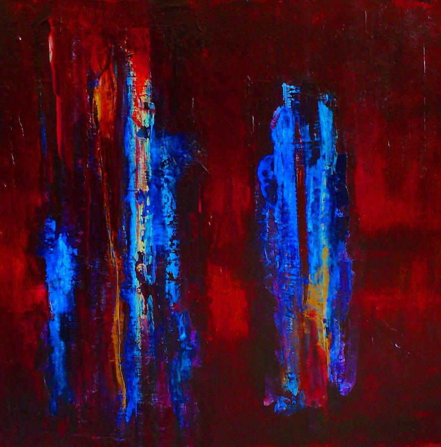 Religious Painting - Gospel Of John A Transubstantiation Of The Divine by Jonathan E Raddatz