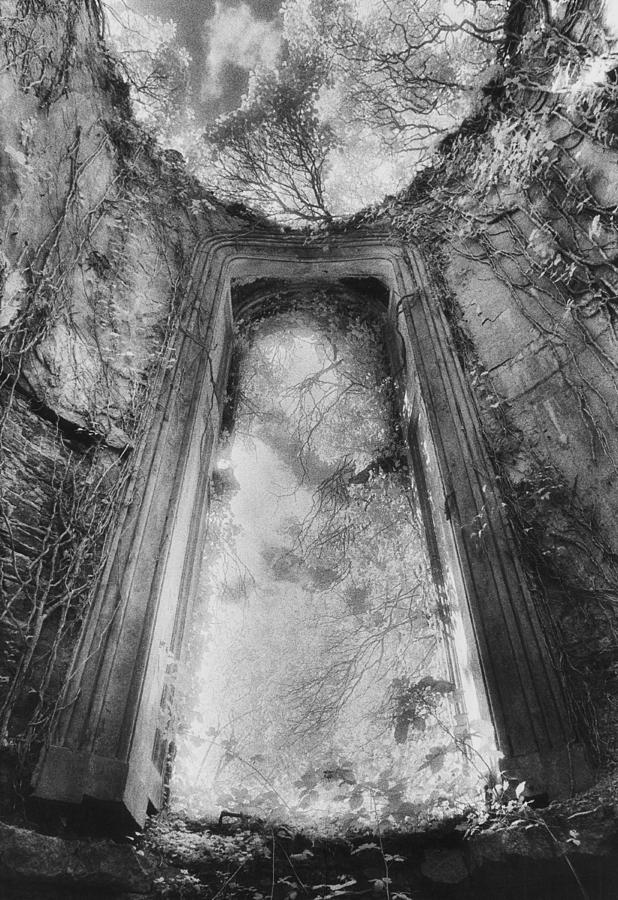 Irish Architecture; Ruin; Ruins; Remains; Imposing; Derelict; Dramatic Photograph - Gothic Window by Simon Marsden