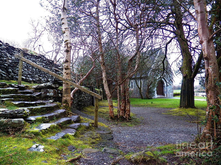 Gougane Barra Church Cork Ireland Photograph  - Gougane Barra Church Cork Ireland Fine Art Print