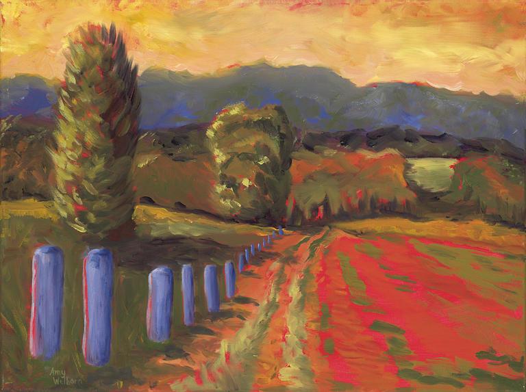 Graf Farm Painting