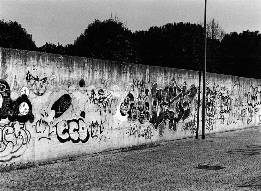 Graffiti In Rome Photograph