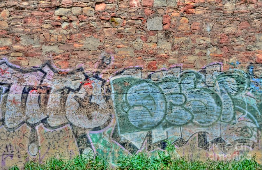 Graffiti Photograph  - Graffiti Fine Art Print