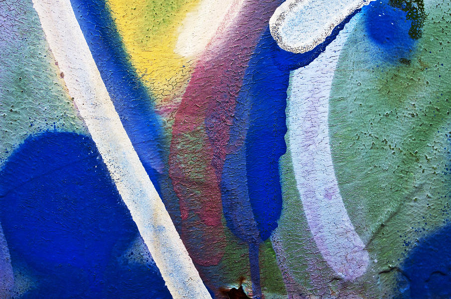 Graffiti Texture V Photograph