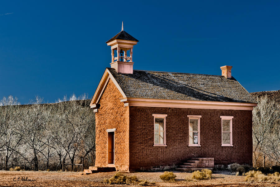 Grafton Schoolhouse Photograph  - Grafton Schoolhouse Fine Art Print