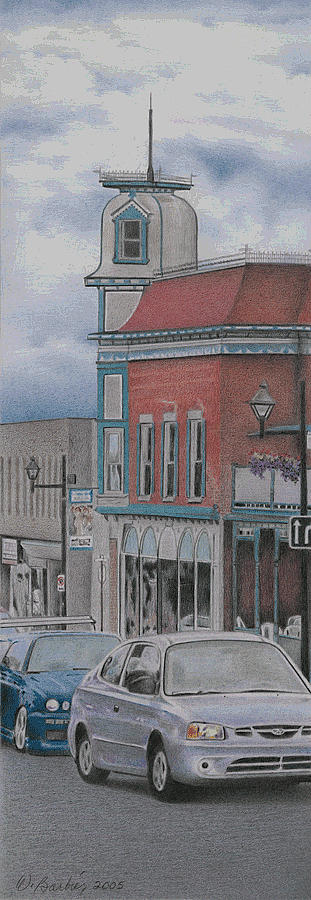 Granby Drawing  - Granby Fine Art Print