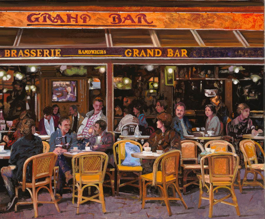 Grand Bar Painting  - Grand Bar Fine Art Print