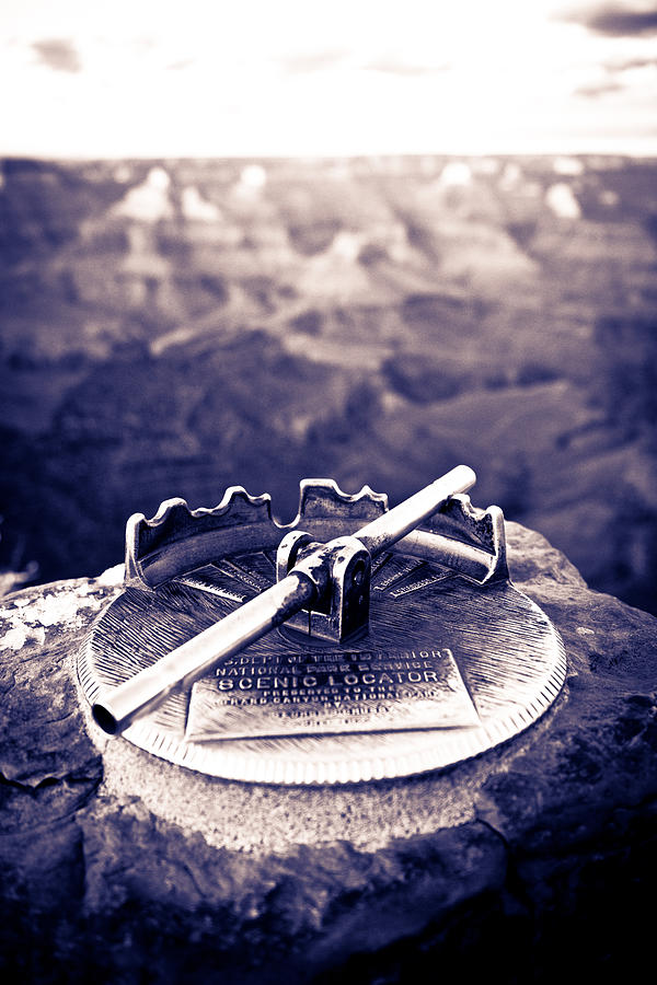 Grand Canyon - Sight Tube Photograph  - Grand Canyon - Sight Tube Fine Art Print
