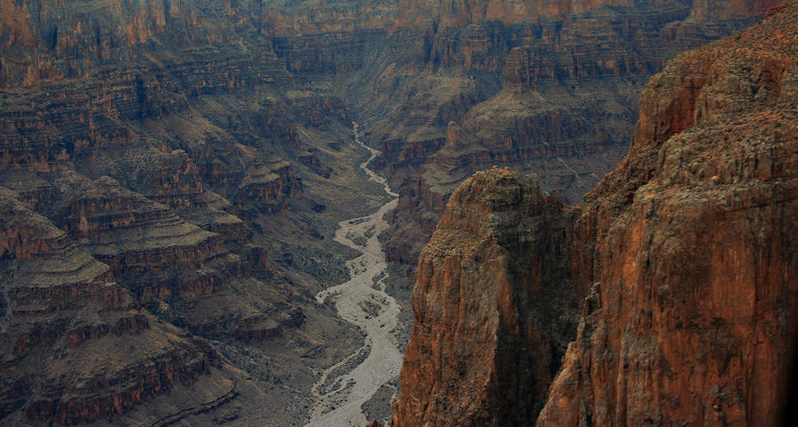 Grand Canyon-aerial Perspective Photograph