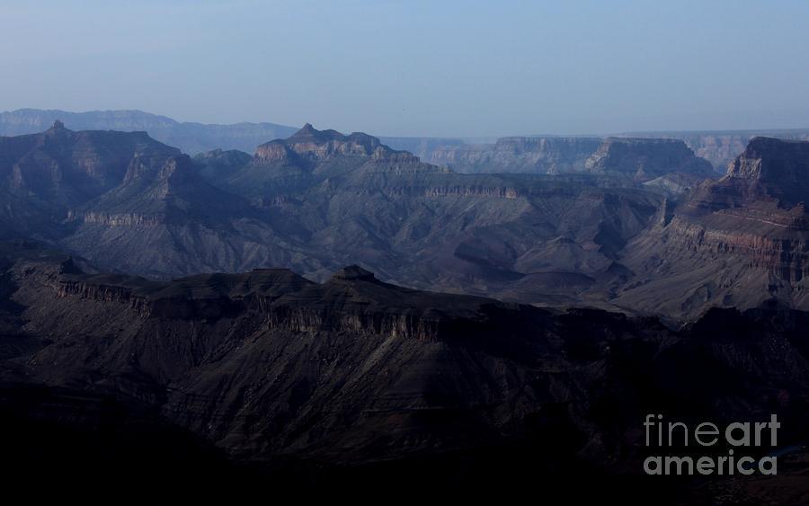 Grand Canyon At Dusk Photograph