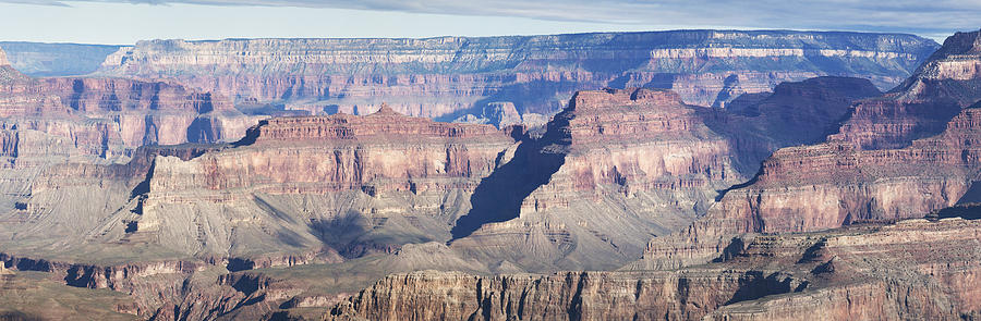 Grand Canyon At Hopi Point Page 3 Of 4 Photograph  - Grand Canyon At Hopi Point Page 3 Of 4 Fine Art Print