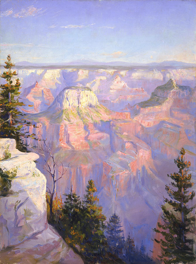 Grand Canyon North Rim Painting
