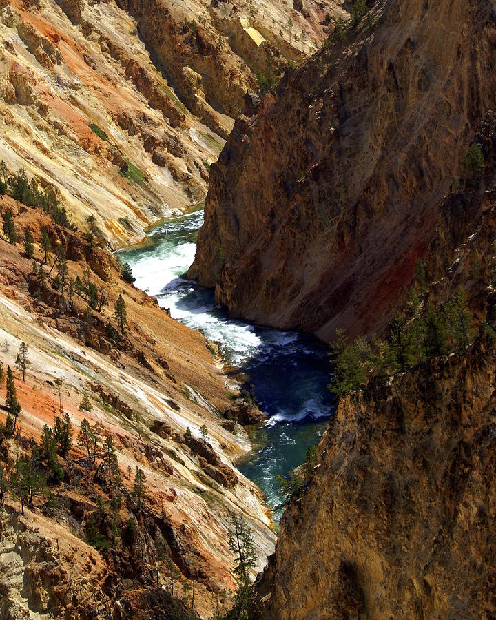 Grand Canyon Of The Yellowstone 1 Photograph  - Grand Canyon Of The Yellowstone 1 Fine Art Print