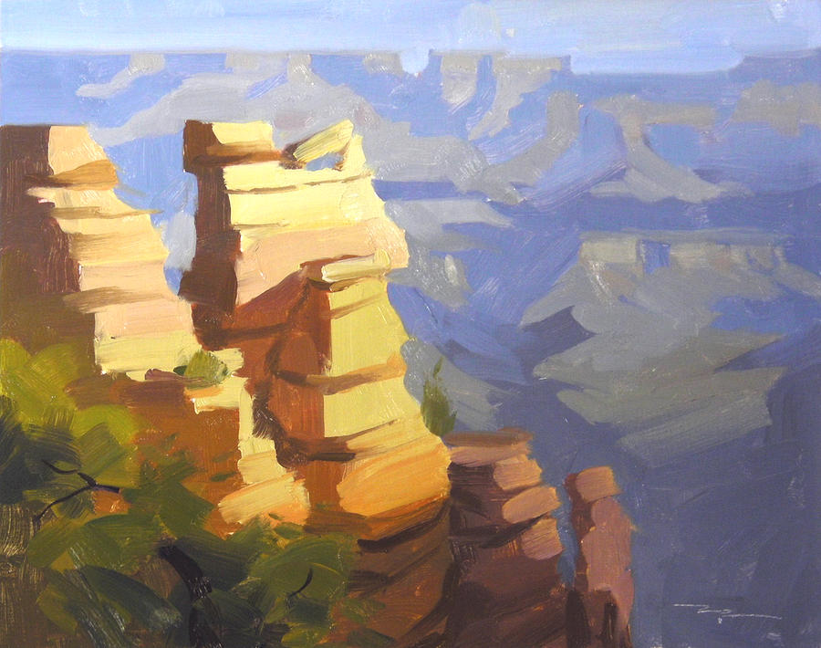 Landscape Painting - Grand Canyon by Richard Robinson