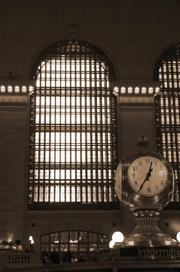 Grand Central Station Photograph  - Grand Central Station Fine Art Print