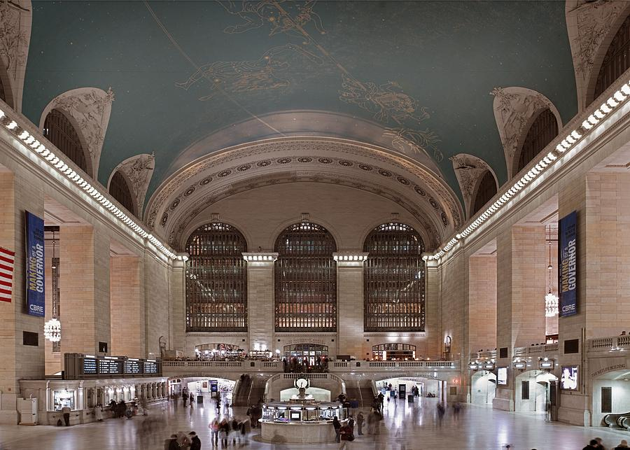 Grand Central Station The Main Photograph  - Grand Central Station The Main Fine Art Print