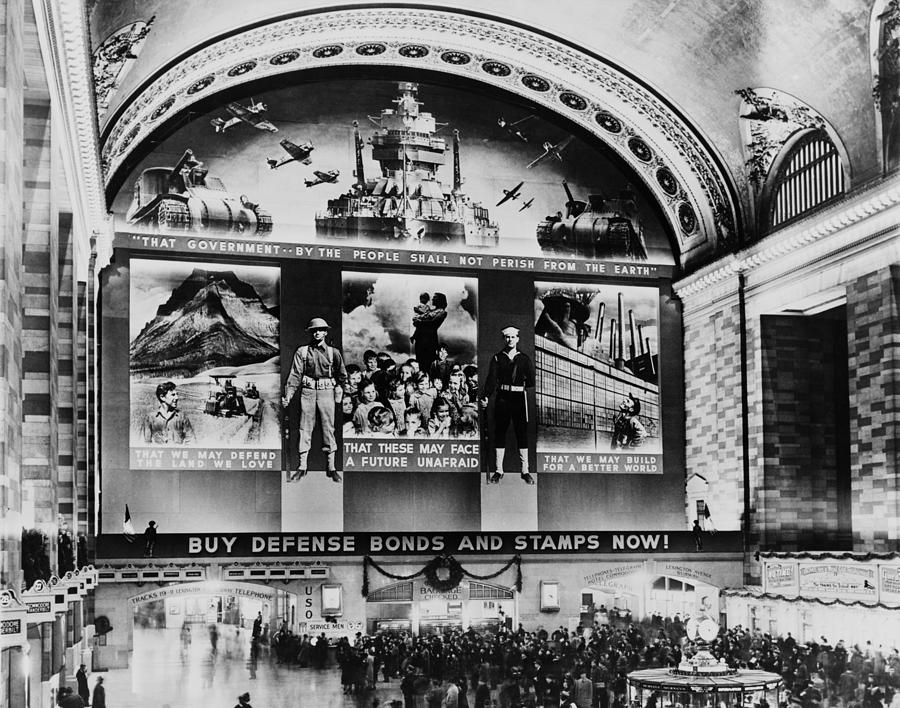Grand Central Terminal Mural. A Huge Photograph
