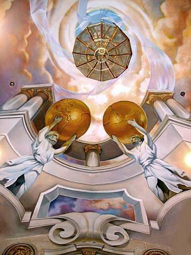 Grand Foyer Ceiling Mural by Keith Goodson