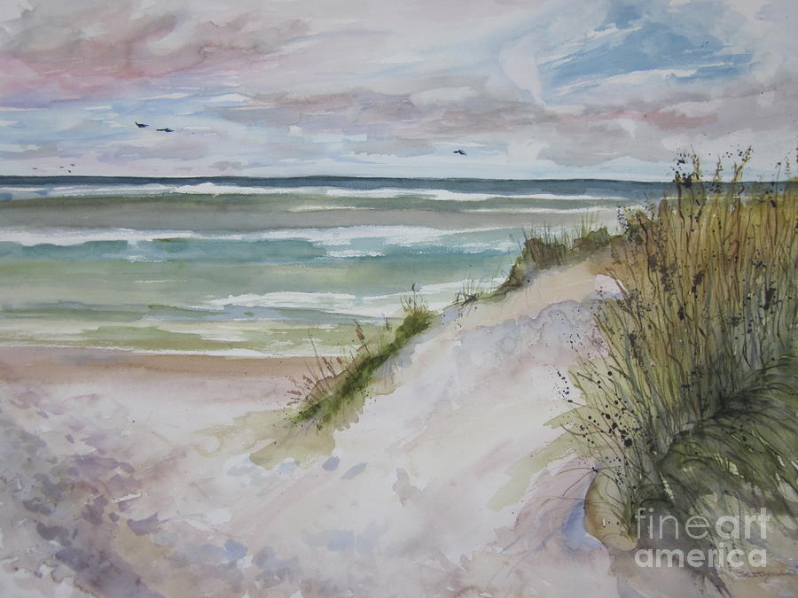 Grand Haven Dune Painting  - Grand Haven Dune Fine Art Print