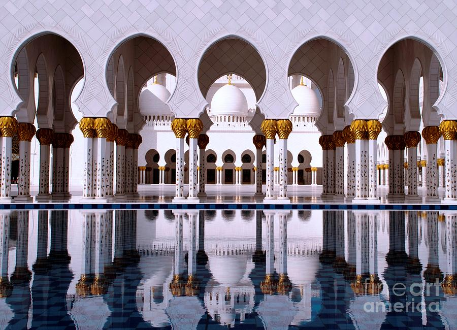 Grand Mosque Photograph  - Grand Mosque Fine Art Print