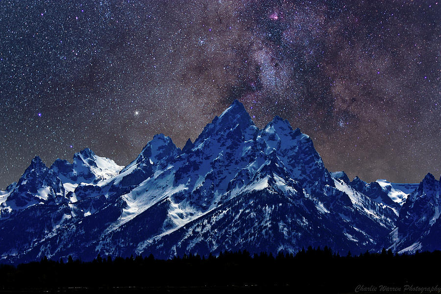 Grand Tetons Nights Photograph