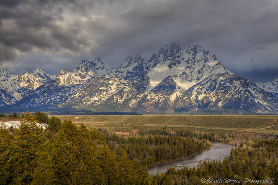 Grand Tetons Snake River Photograph