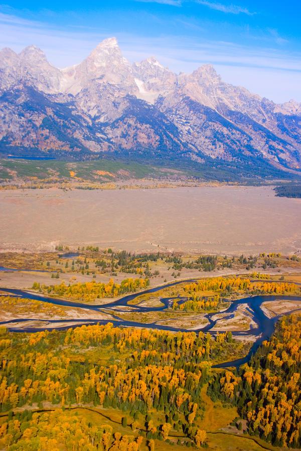 Grand Tetons Views Photograph