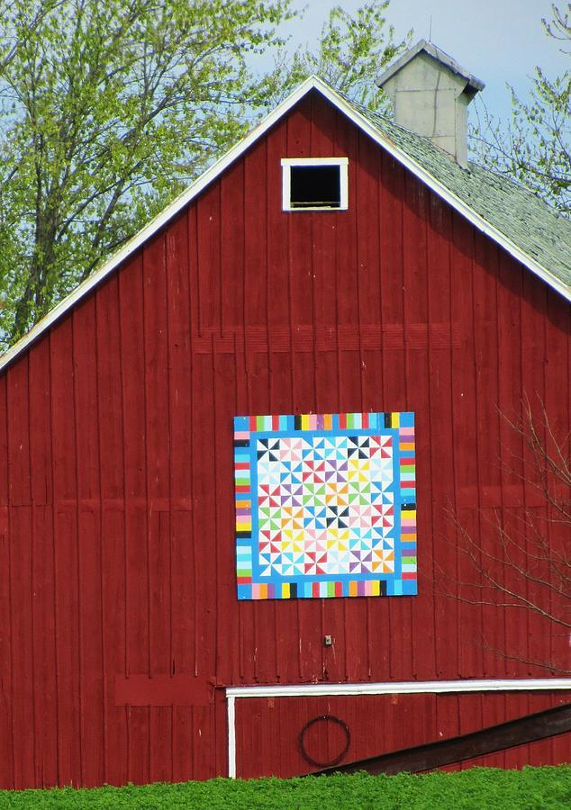 Creative Barn Photograph - Grandma Sherlock by Todd Sherlock