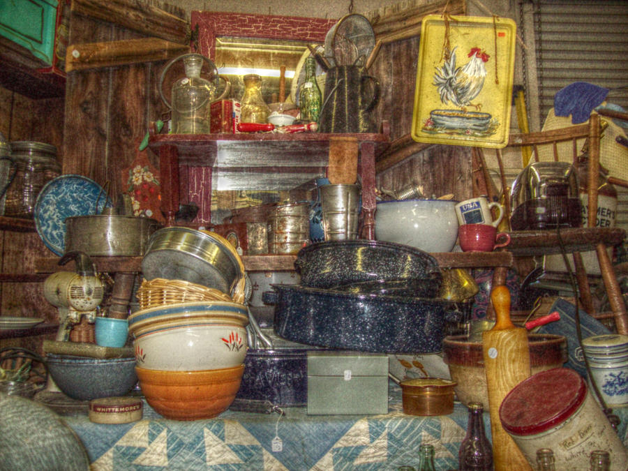 Grandmas Kitchen Photograph