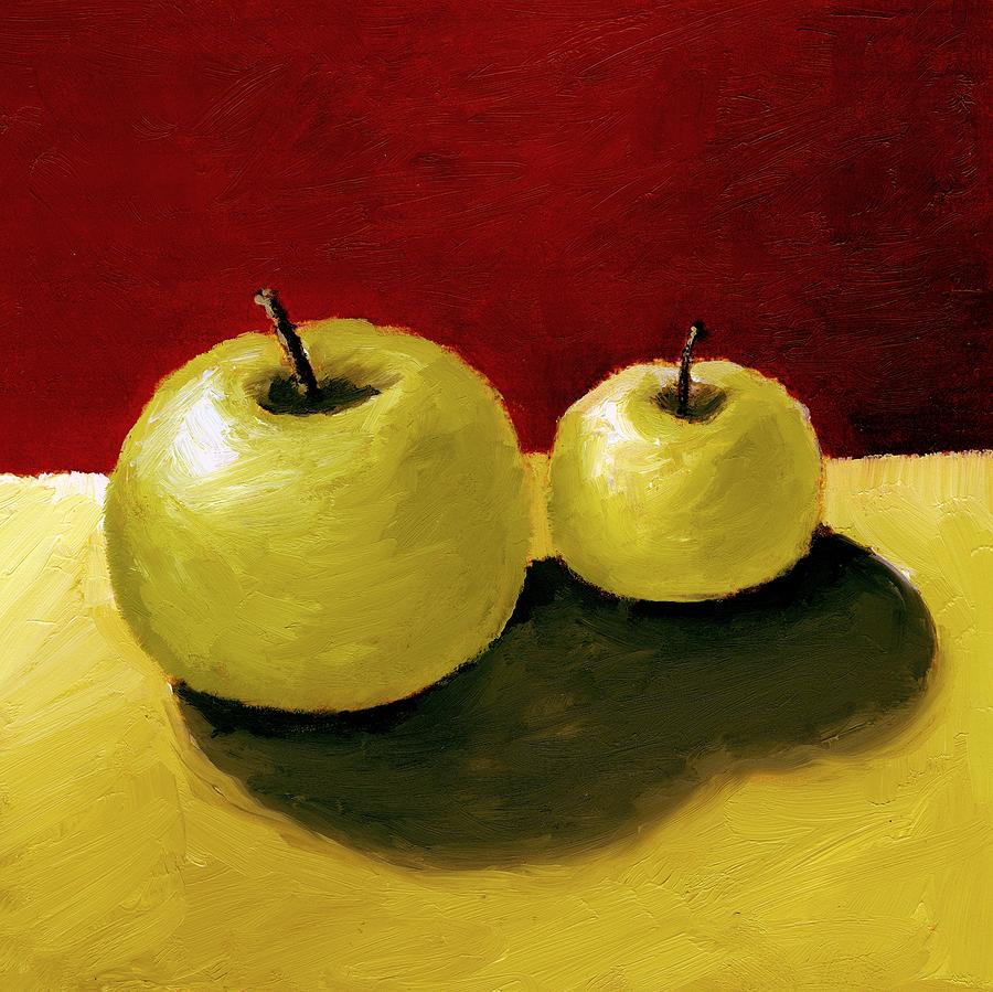 Granny Smith Apples Painting