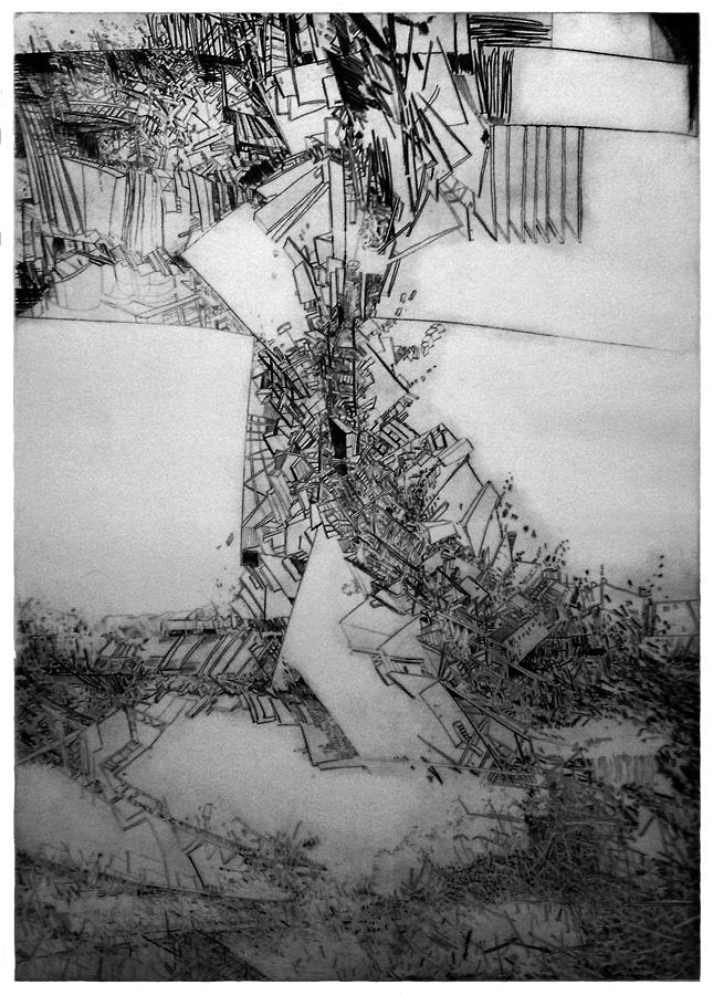 Drawing - Graphics Europa 200 by Waldemar Szysz