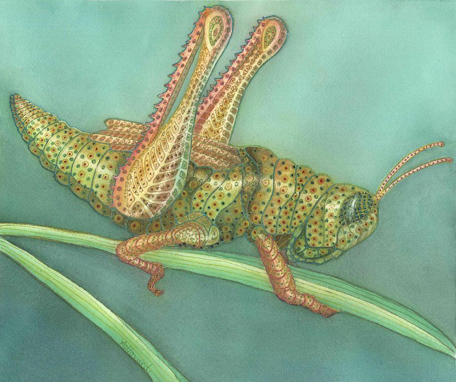 Grasshopper Painting