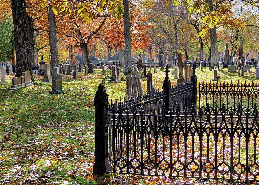 Gravestones Photograph
