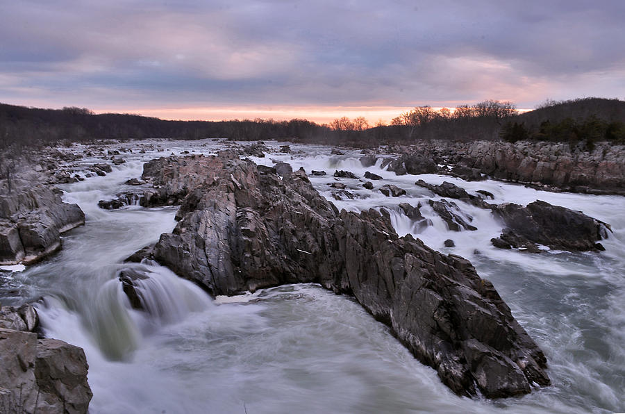 Great falls national park virginia is a photograph by jeff rose which