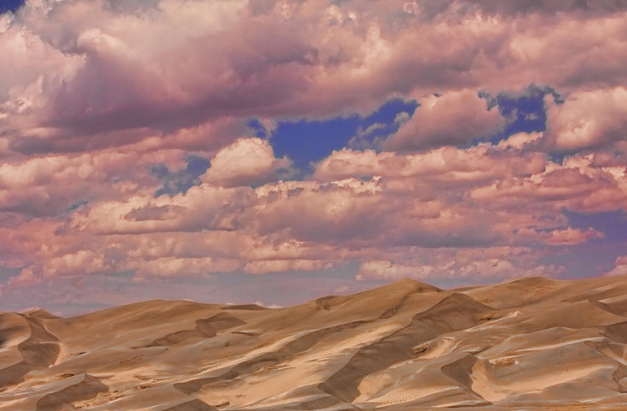 Great Sand Dunes And Great Clouds Photograph