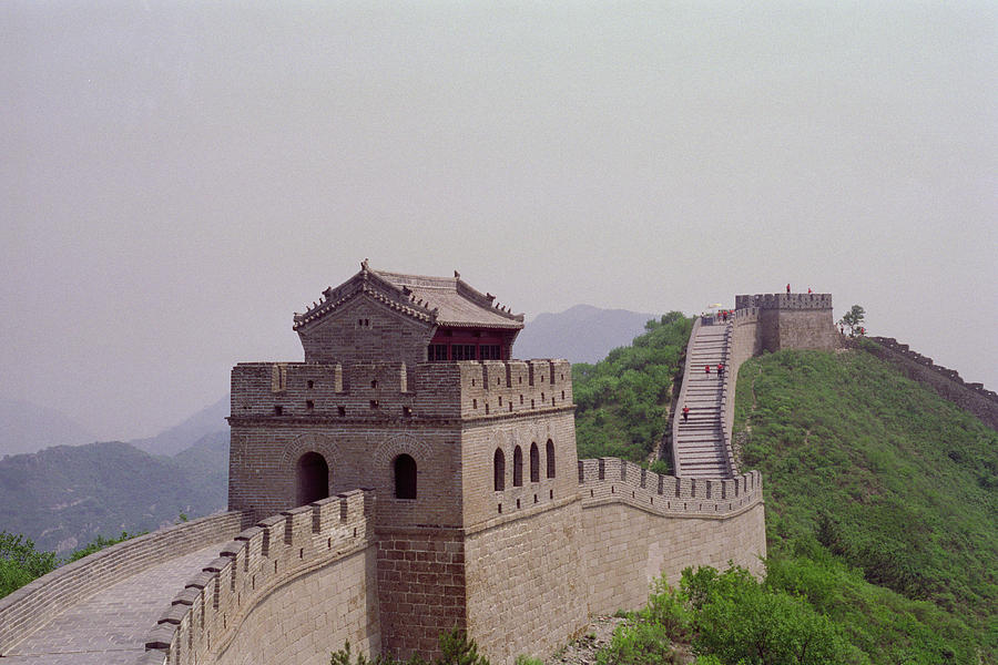 Great Wall Of China by David Theroff