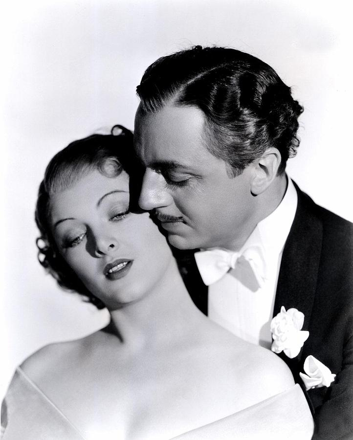 Great Ziegfeld, Myrna Loy, William Photograph