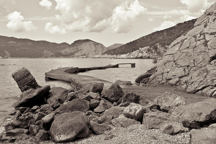 Greek Harbour Photograph  - Greek Harbour Fine Art Print