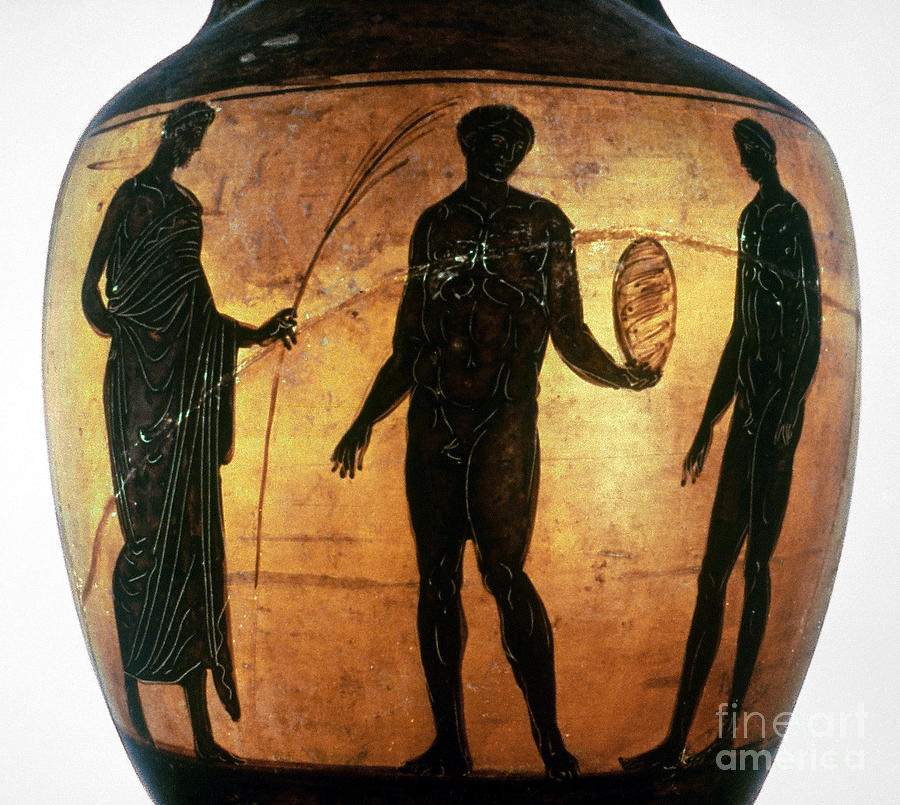 6th Century B.c Photograph - Greek Olympian by Granger