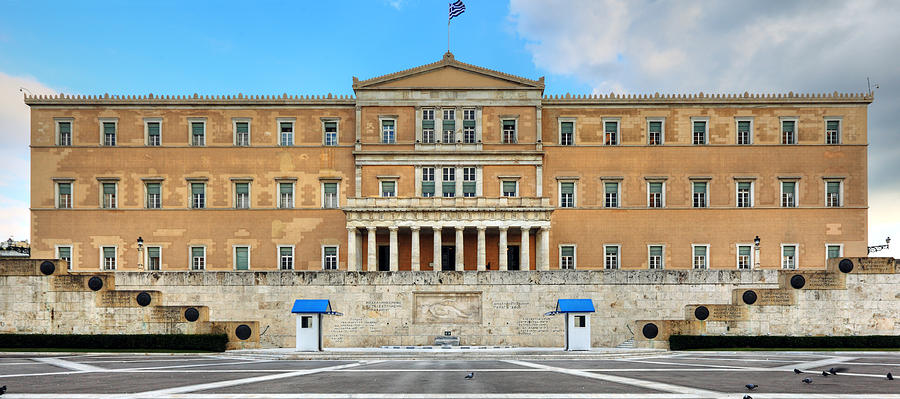 Architecture Photograph - Greek Parliament by Constantinos Iliopoulos