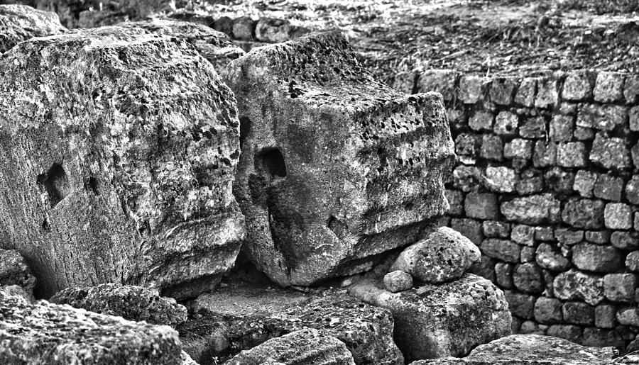 Greek Ruins  Photograph  - Greek Ruins  Fine Art Print