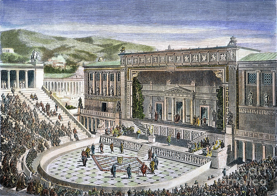 theater and drama in ancient greece Theatre, too, was a part of the daily life of ancient greeks its origins came from the cults of the god dionysus, whose members would sing and dance themselves into a euphoric state during festivals and rites.